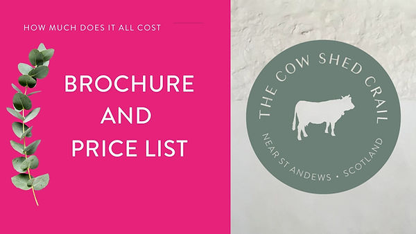 The Cow Shed Crail - Brochure and Price