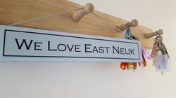 we love east neuk sign