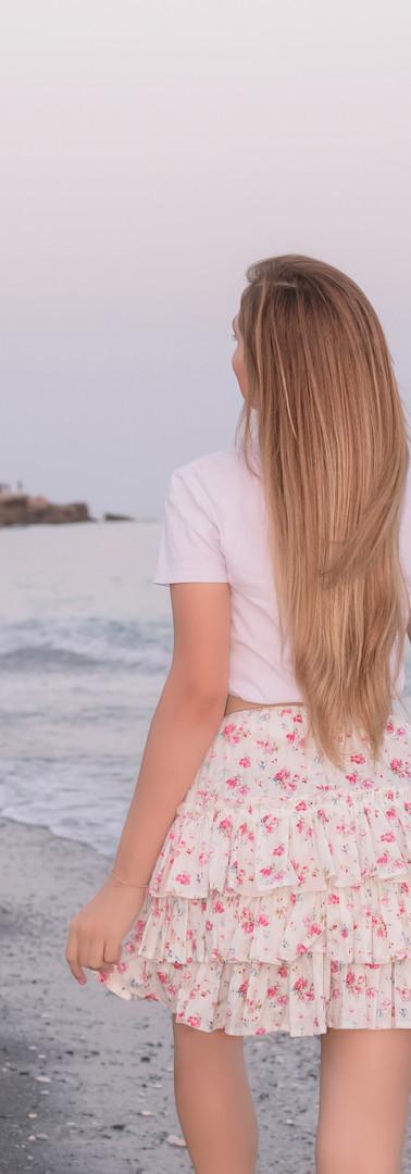 Ellie Floral Skirt