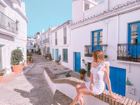 ¡Conociendo Frigiliana, España!