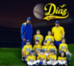 Diaz Baseball Team