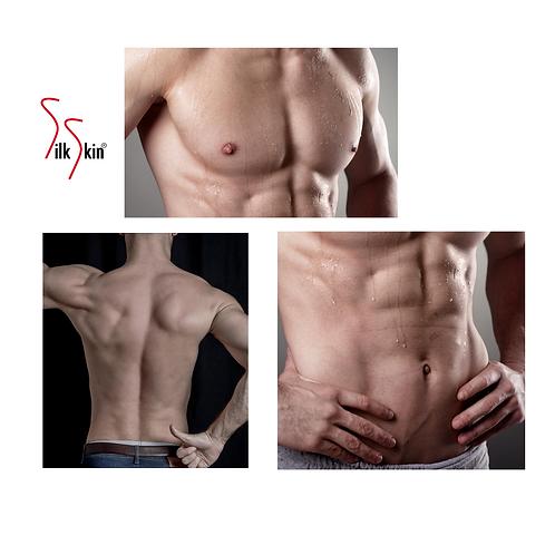 Depilación pecho, espalda y abdomen