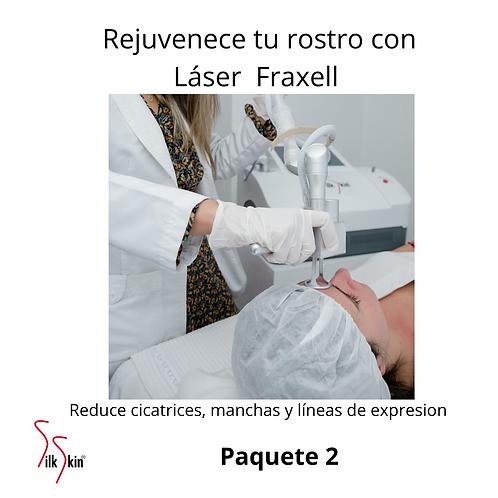Láser Fraxell Paquete 2