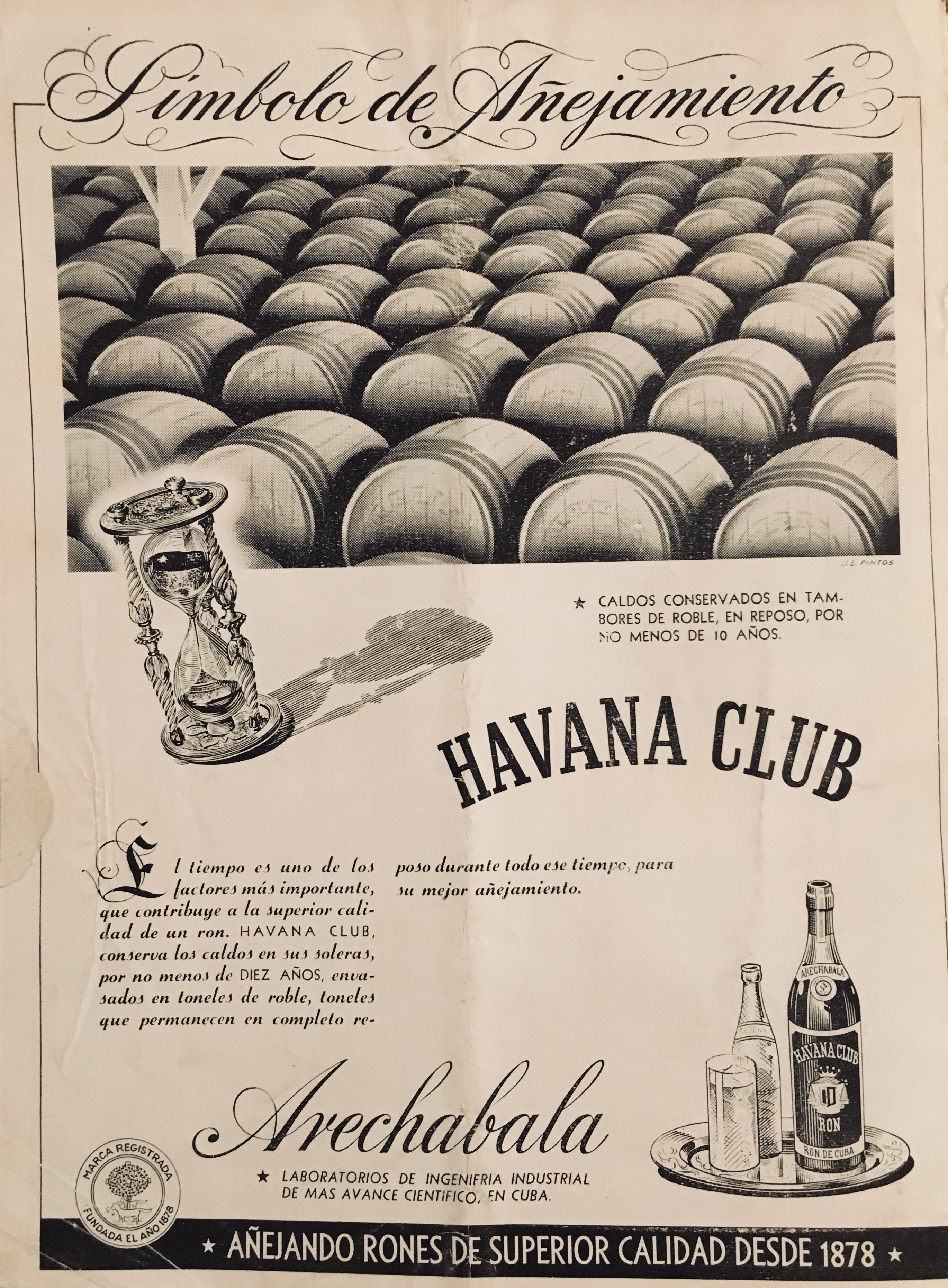 Anuncio Havana Club