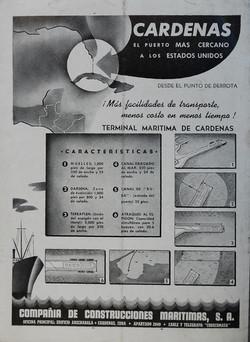 Anuncio Puerto Cárdenas