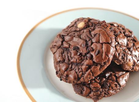 עוגיות שוקולד נוגט לוז רכות