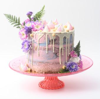 עוגת דריפ שוקולד לבן