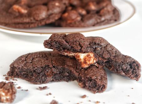 עוגיות שוקולד ומרשמלו