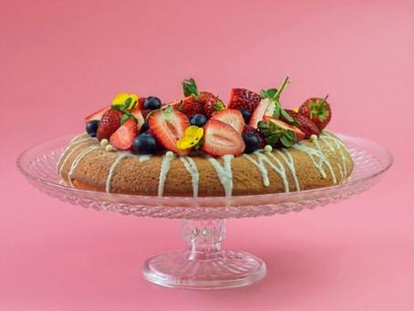 עוגת תותים בשמנת