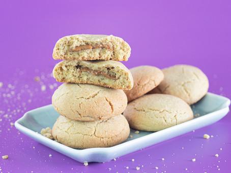 עוגיות במילוי לוטוס