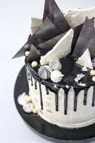 עוגת שחור, לבן וכסף