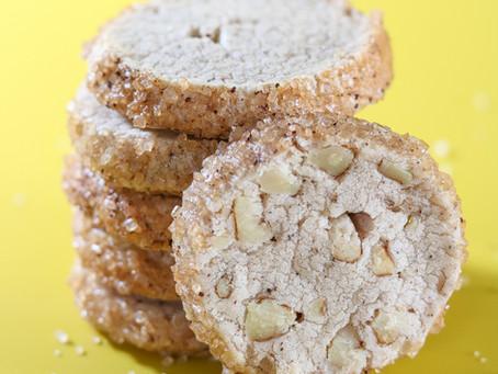 עוגיות פקאן מתובלות
