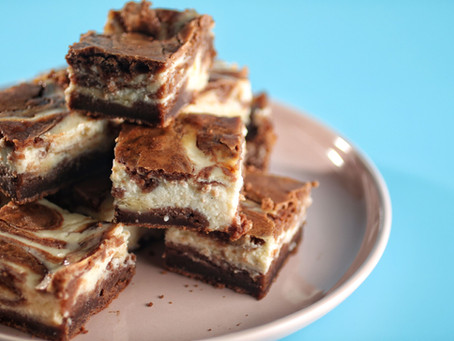 בראוניס שוקולד גבינה