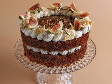 עוגת דבש צ'אי מסאלה