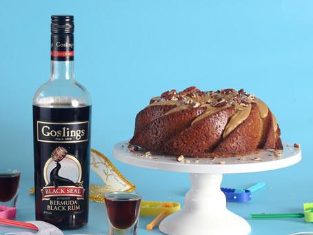 עוגת תבלינים ורום משכרת