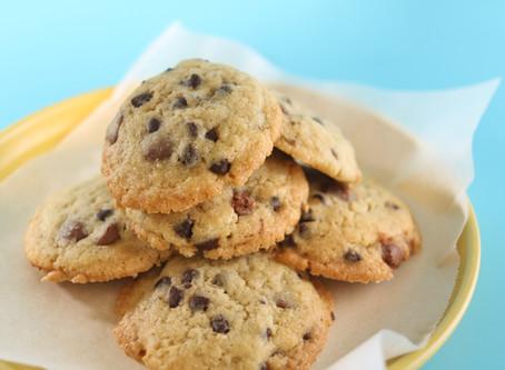 עוגיות שוקוצ׳יפס רכות