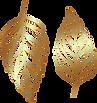 Decorative_Golden_Leaves_Transparent_Ima