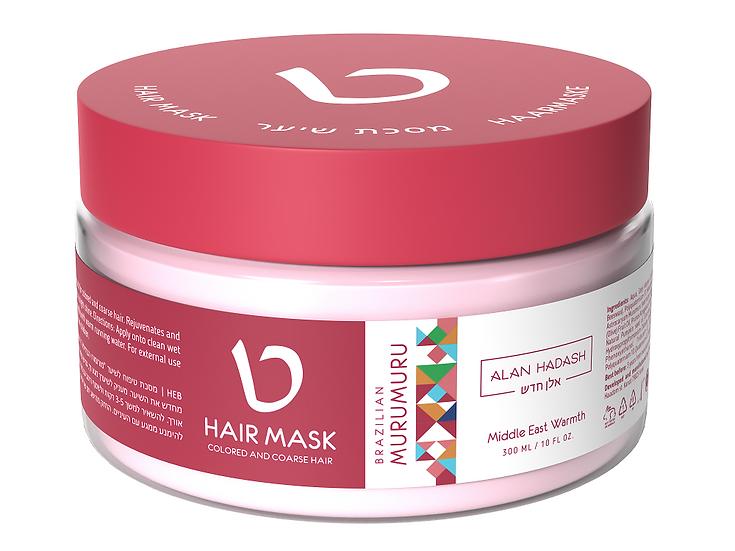 Маска для окрашенных и осветленных волос Brazilian Murumuru 300мл