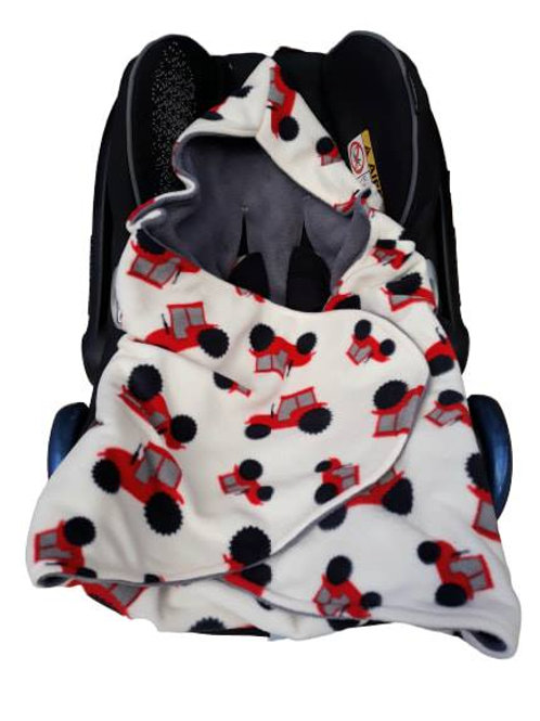 ivory red tractor grey inner