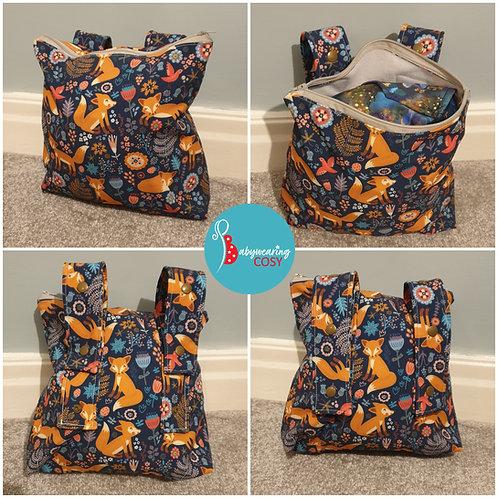 Cosy storage pouch