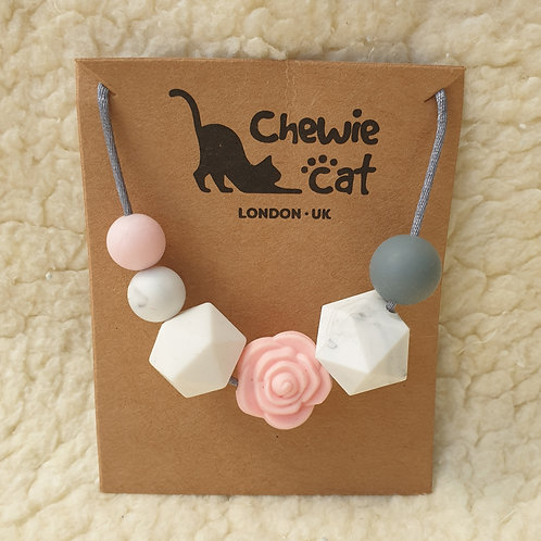 pink Teether Necklace