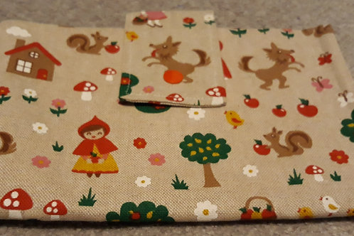 Red riding hood Nappy Wallet
