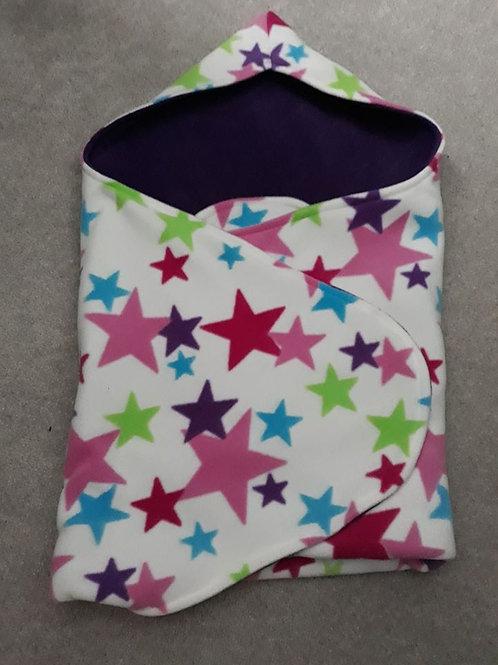 multi coloured star purple inner