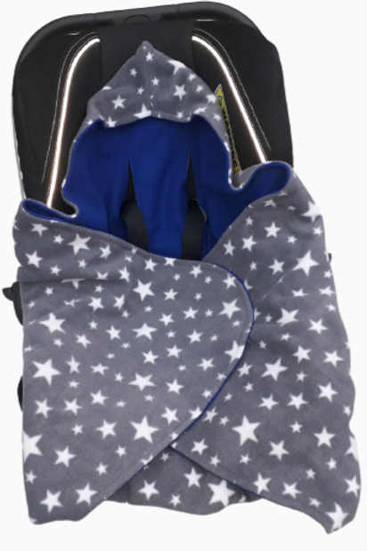 Grey star with Royal blue inner