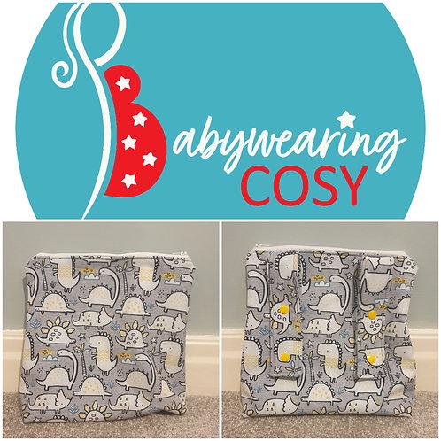 Dino cosy pouch