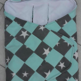 Patchwork Cosy car seat blankets