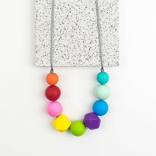 Rainbow Teether Necklace
