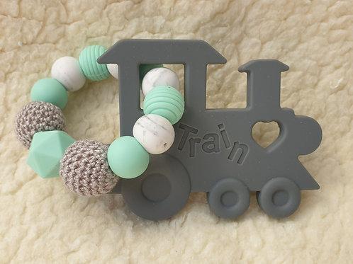 train handheld teether