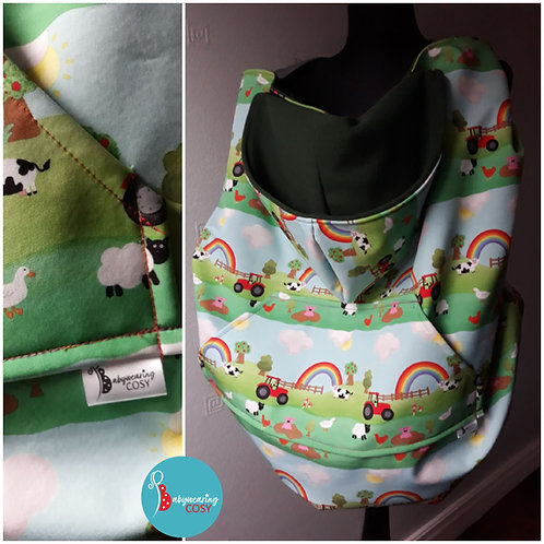 Only at Babywearing Cosy- Down on the Farm