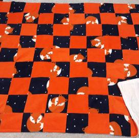 Patchwork pram/floor blankets
