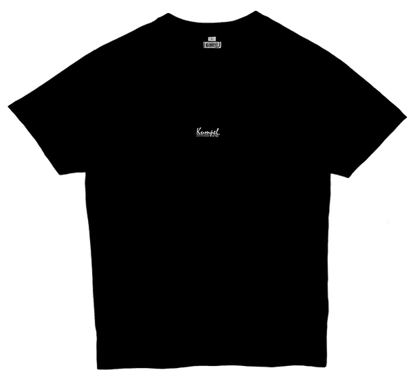 Kumpel T-Shirt - Bio Basic Schwarz (Unisex)