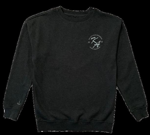 Kumpel Sweatshirt - Asphaltgrau (Unisex)