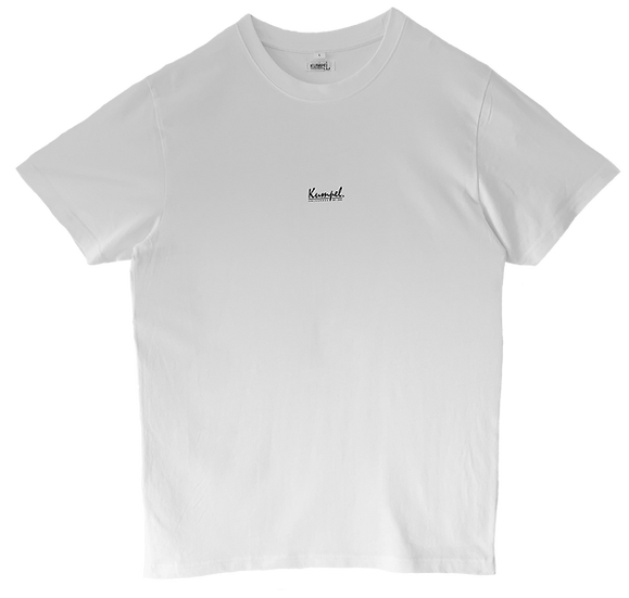 Kumpel T-Shirt - Bio Basic Weiß (Unisex)
