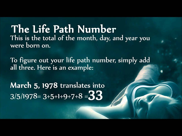 Life Path Number Crystals  Basic Life Path Number Meanings