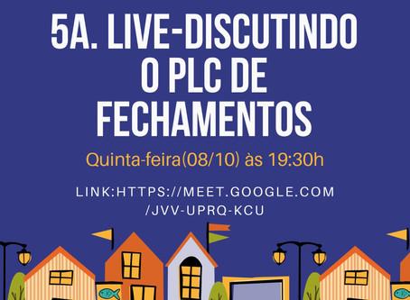 Única-DF realiza live nesta quinta sobre PLC de Loteamentos Fechados