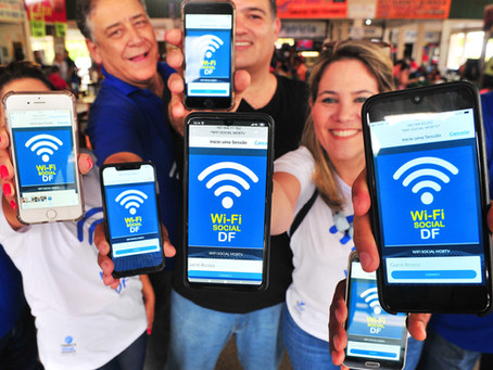 GDF lança projeto Wi-Fi Inteligente