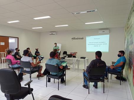 Produtores de Brazlândia participam de curso sobre manejo de agrotóxicos