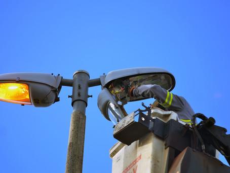 CEB concentra esforços nas manutenções de iluminação pública