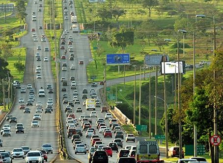 Epia passará por bloqueios nesta terça (5) no sentido Sobradinho-Plano Piloto