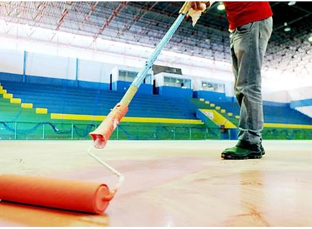 Programa GDF Presente faz a revitalização do Ginásio de Esportes em Sobradinho
