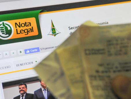 Bilhete de R$ 17 leva prêmio de R$ 500 mil no sorteio do Nota Legal