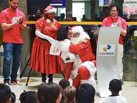 Papai Noel dos Correios completa 30 anos em 2019