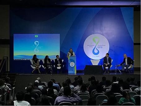 Empresas apresentam ações para incentivar o consumo responsável da água