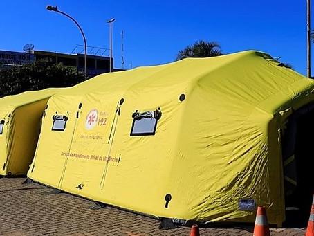 Tenda de combate à dengue de Planaltina muda de localização