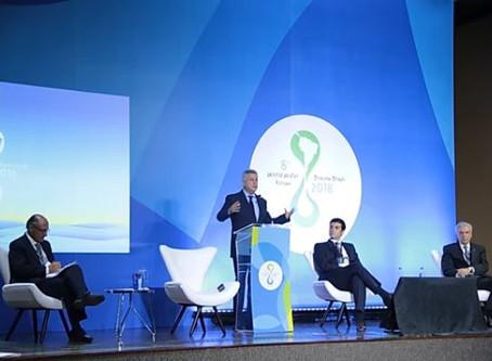 Governadores e Chefes de Estado se reúnem para discutir crise hídrica no Fórum Mundial da Água