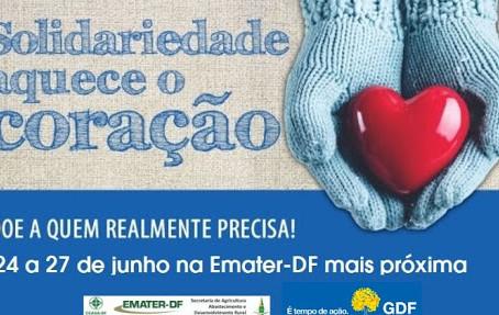 GDF promove campanha Agasalho Solidário
